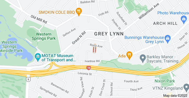 Location of Herringson Avenue
