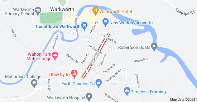 Location of Bertram Street