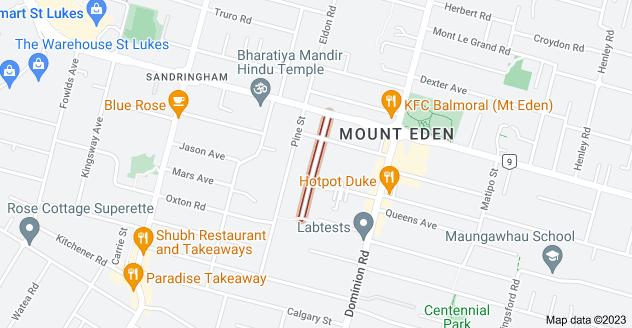 Location of Volcanic Street