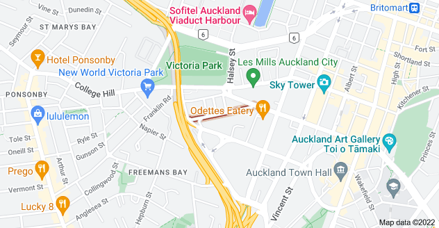 Location of Sale Street