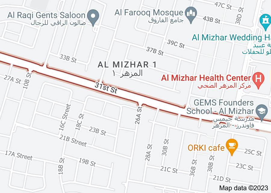 Location of 31st Street