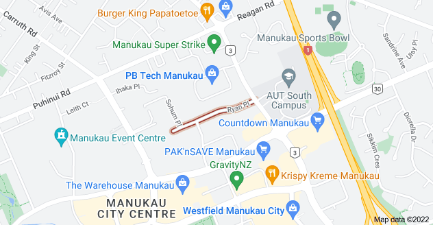 Location of Ryan Place