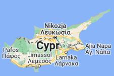 Mapa: Cypr