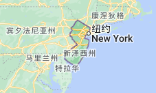 Location of 新泽西州