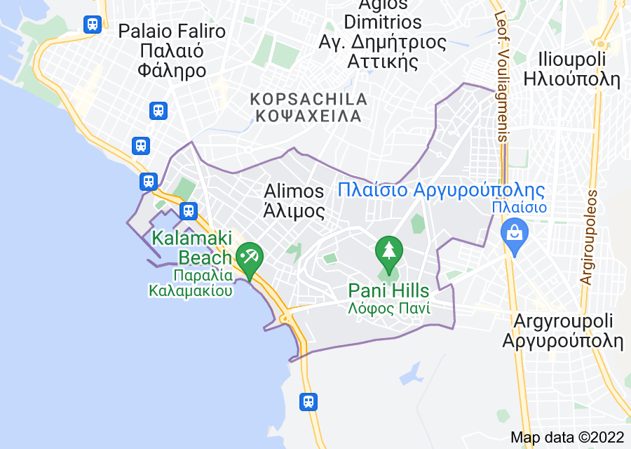 Location of Alimos