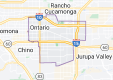 Map of Orem, UTlifornia