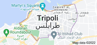 Location of Tripoli