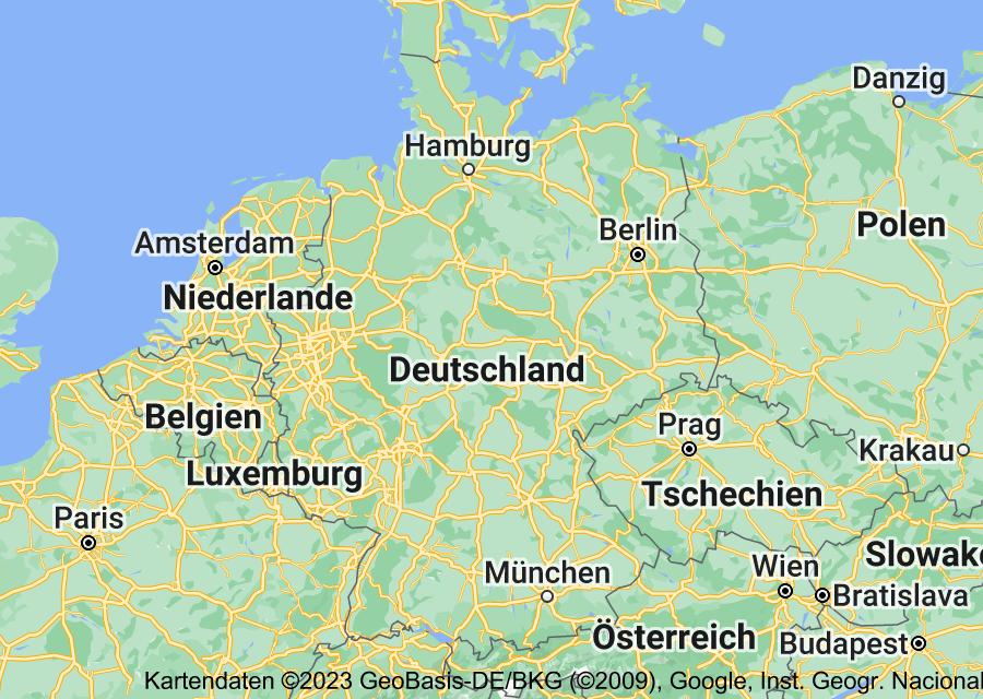 Location of Deutschland