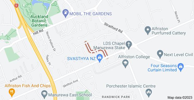 Location of Senator Drive