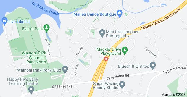 Location of Northbrook Close