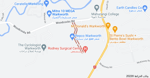 Location of Morrison Drive