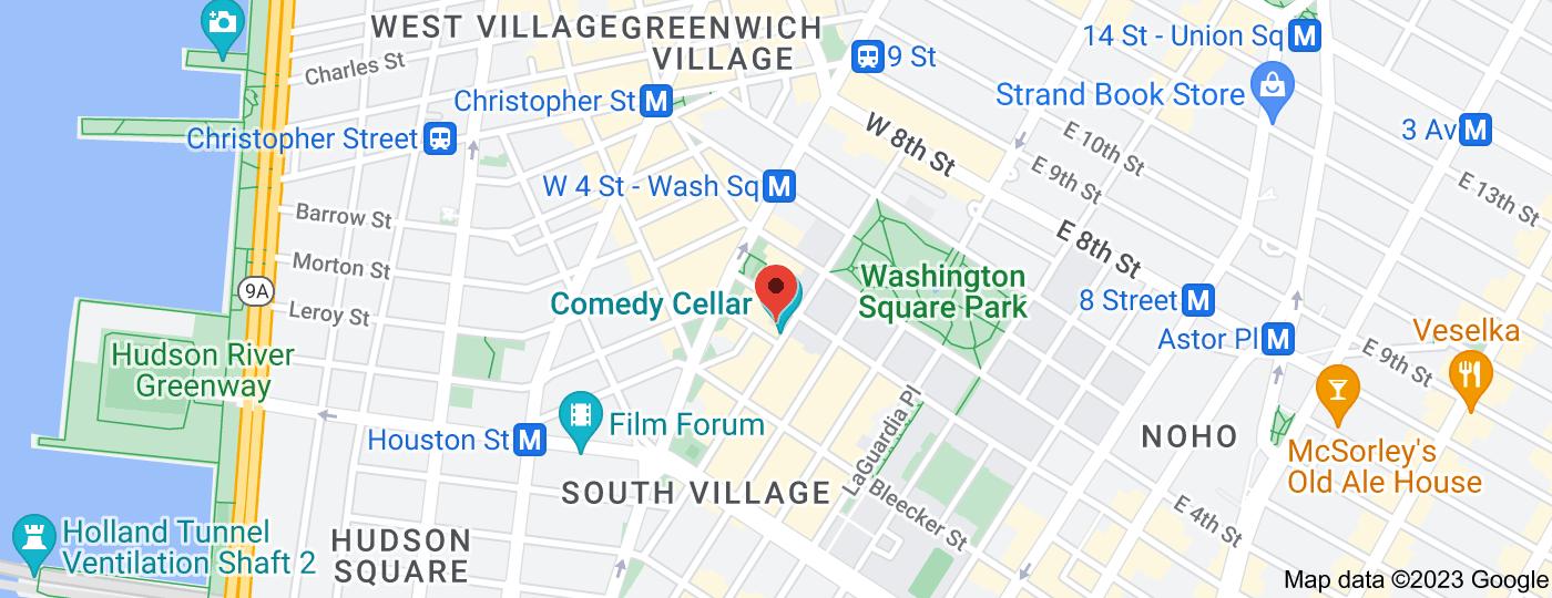 Location of Comedy Cellar