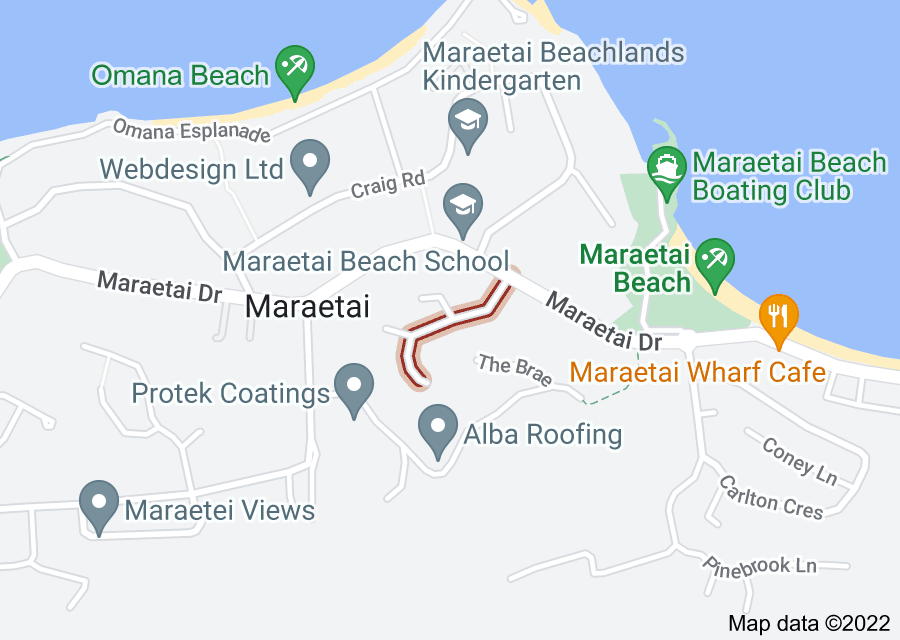 Location of Albacore Way