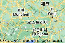 Location of 오스트리아