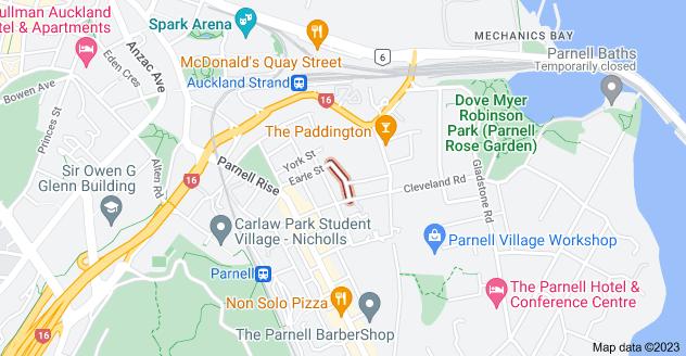Location of Churton Street