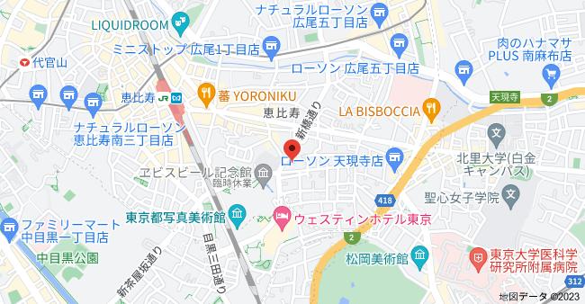 〒150-0013 東京都渋谷区恵比寿3丁目9−20の地図