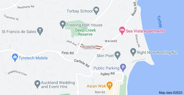 Location of Mizpah Road