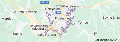 Mappa di: Frosinone