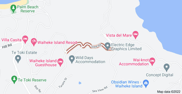 Location of View Road