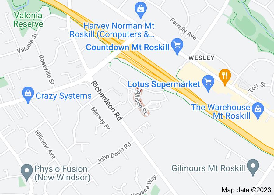 Location of Allison Street