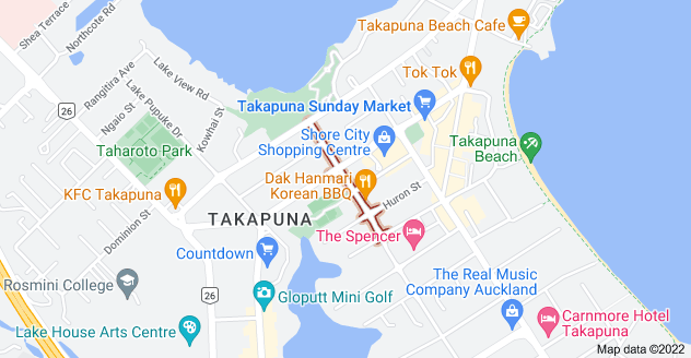 Location of Auburn Street