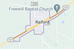 Map of Raiford, Florida