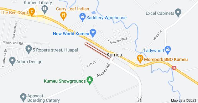 Location of Shamrock Drive