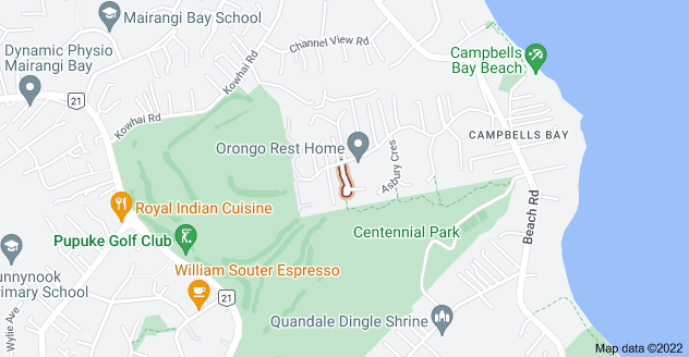 Location of Centennial Place