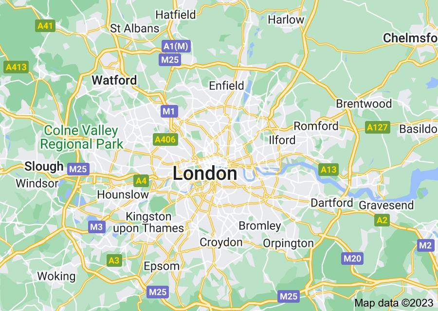 Location of London