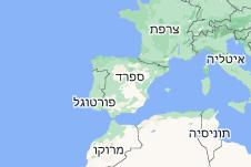 Location of ספרד