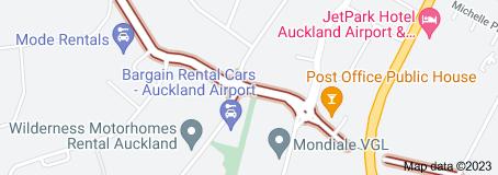 Location of Montgomerie Road