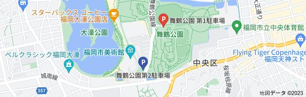舞鶴公園第2駐車場の地図