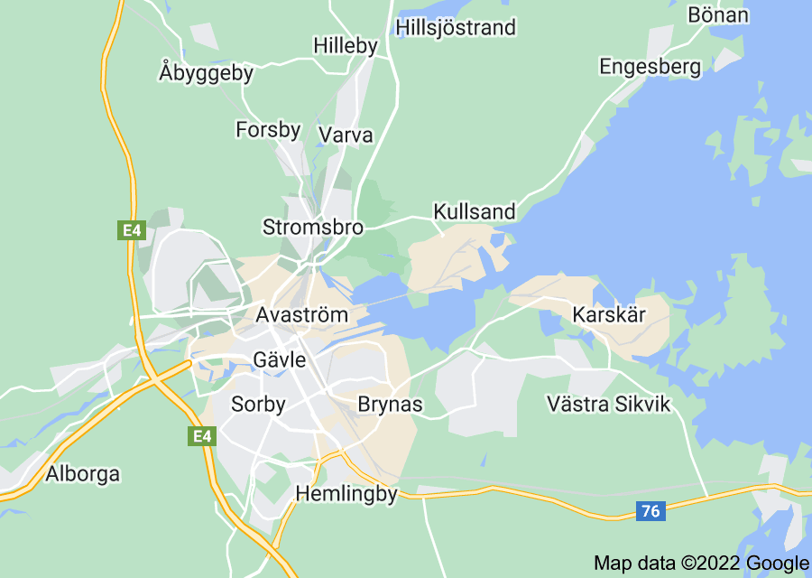 Location of Gävle