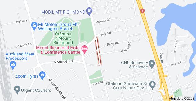 Location of Meadow Street