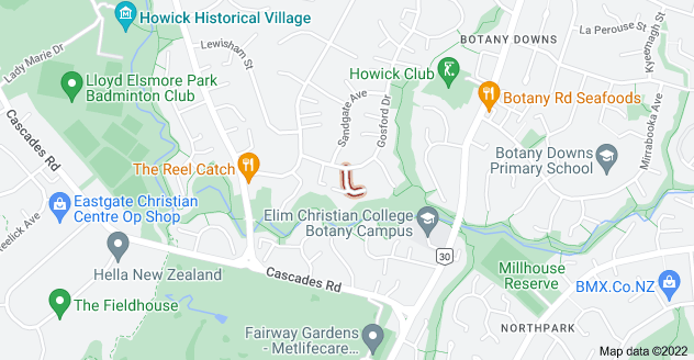 Location of Seaglen Place