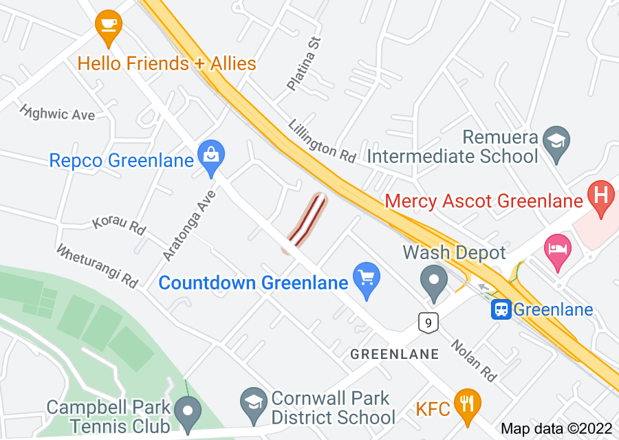 Location of Sunnyvale Road