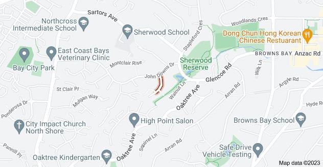 Location of Scarlock Avenue
