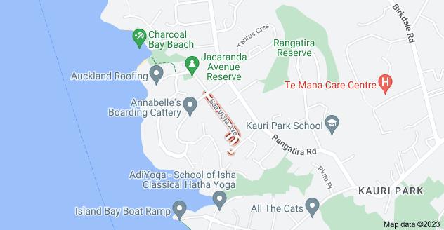 Location of Sea Vista Avenue