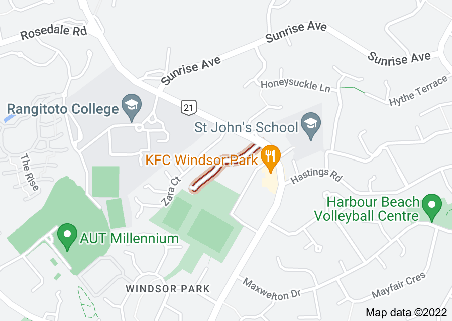 Location of Noel Williams Place