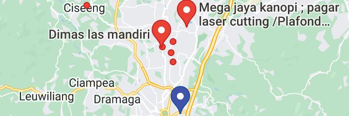 Peta tukang baja ringan di cibinong abditrass