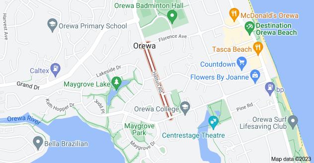 Location of Hatton Road