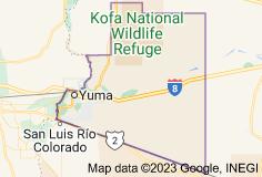 Map of Yuma County