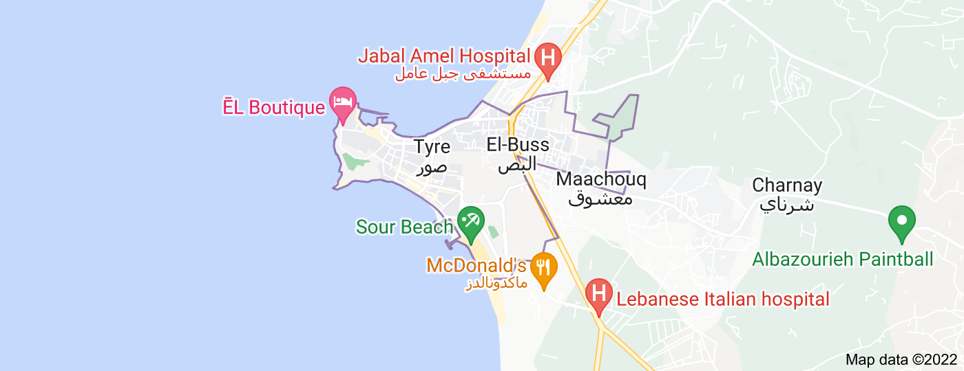 Location of Tyre