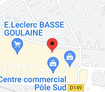 E.Leclerc Espace Culturel: carte