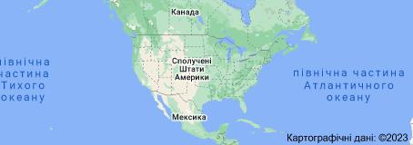 Location of Сполучені Штати Америки