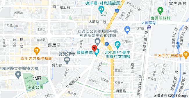 404台中市北區北屯路49-3號地圖
