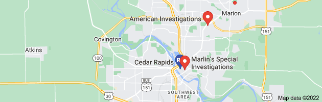 Cedar Rapids, IA private investigators