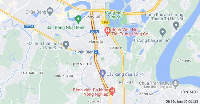 Bản đồ của Đường Ngọc Hồi, Hà Nội