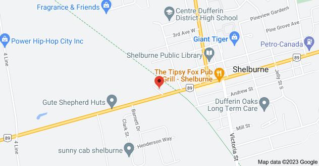 Map of 4 John St, Shelburne, ON L0N 1S3