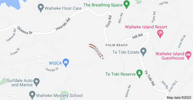 Location of Gulf Place
